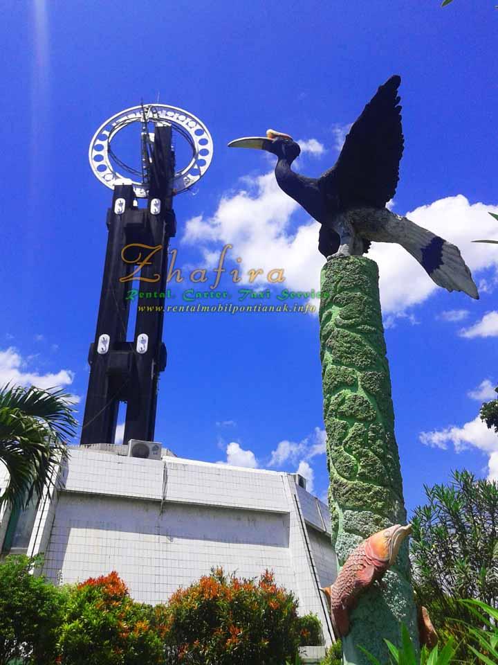 Jarak antar kota di Kalimantan Barat