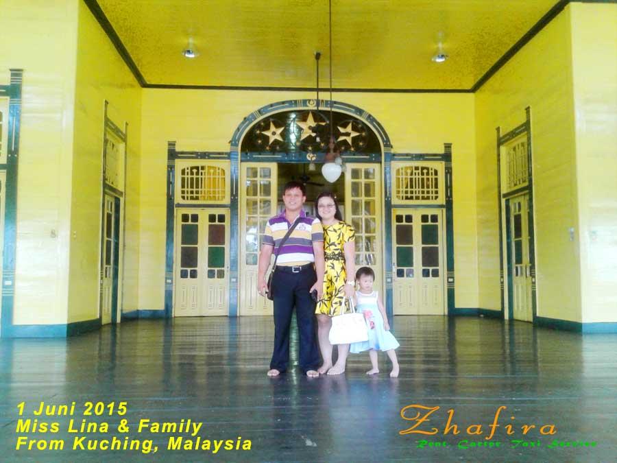 Ibu Lina and Family from Kuching Malaysia 1Juni2015 #PontianakCityTour