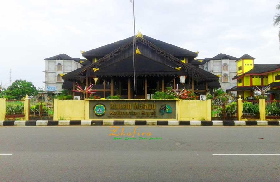 Rumah Adat Melayu Pontianak Kalimantan Barat