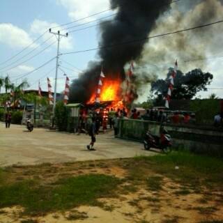 kebakaran sanggau agustus 2015