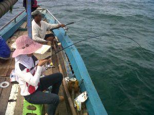 wisata mancing di laut kalimantan barat