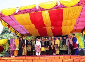 festivak budaya melau paradje' pasaka negeri sanggau
