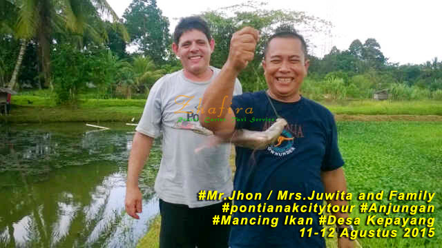 The Journey Mr. Jhon and Mrs. Juwita Family from Sidney, Australia – Pontianak & Anjungan