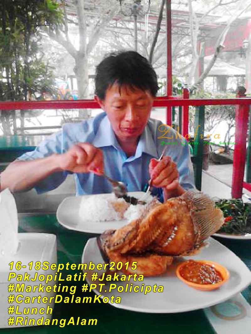 Pak Jopi Latief – PT.Policipta, Jakarta #16-18September2015