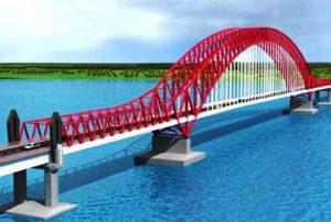 jembatan tayan kabupaten sangau kalimantan barat