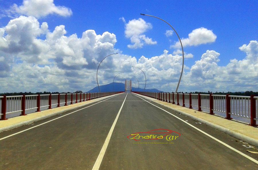jembatan kapuas tayan, kapuas tayan bridge, jembatan tayan sanggau,