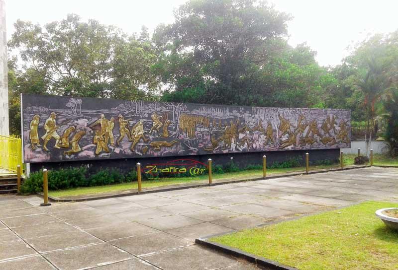 makam juang mandor korban pembantaian tentara penjajahan jepang