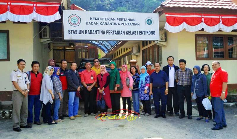 Kementerian Pertanian Pusat Pontianak & Entikong 18-20 Agustus 2016