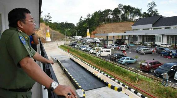 BREAKING NEWS: Jokowi Bakal Resmikan Border Entikong 21 Desember 2016
